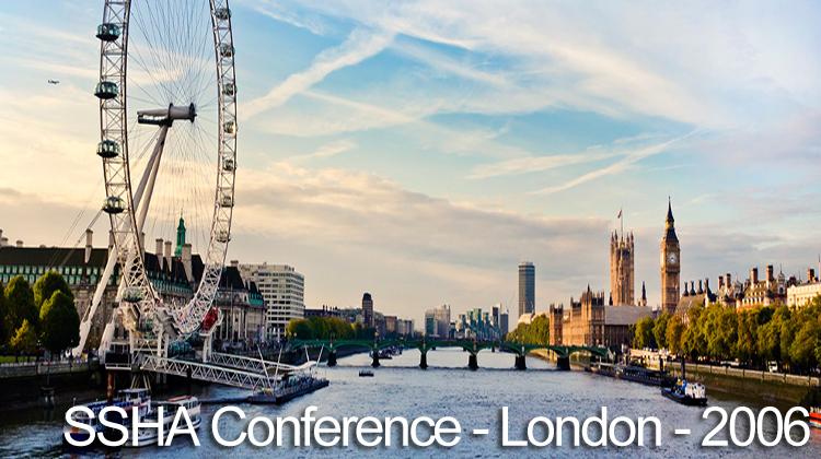 ssha-conference-london-2006