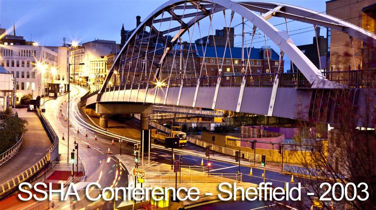 ssha-conference-sheffield-2003